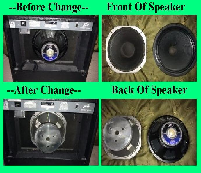 Peavey Vypyr 30 Speaker Replacement